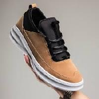 Suede Leather Jogger Shoes
