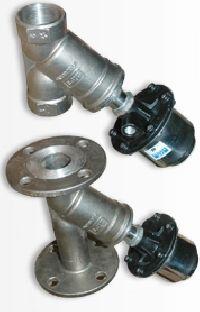 y type angle valve