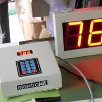 3 Digit Digital Token Display