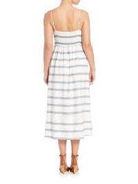 Cotton Bustier Dress