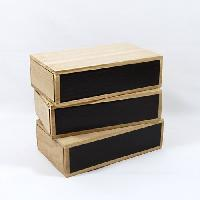 Wooden Match Boxes