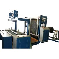 Woven Sack Fabric Rolling Machine