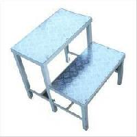 Stainless Steel Double Foot Step