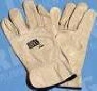 Leather Hand Gloves (Pioneer Soft and Thick Unpolished Leather)