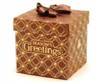Gold Foil Ribbon Gift Boxes