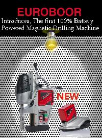 Euroboor Battery Powered Magnetic Drilling Machines