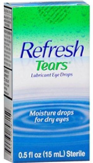 Refresh tears lubricant eye drop