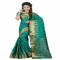 graceful pure cotton silk saree