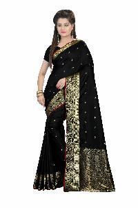 Pure Silk Saree With Designer Pallu