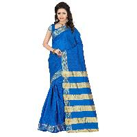 Trendy cotton silk saree