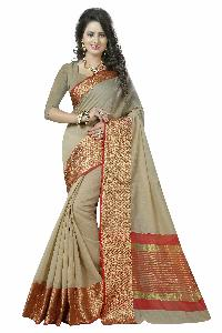 Trendy  Cotton Silk Sarees