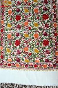 Hand Embroidered Kashmiri Shawls