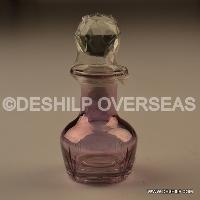 Color Glass Perfume Bottle And Decanters
