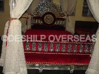Glass Bed Furnitures