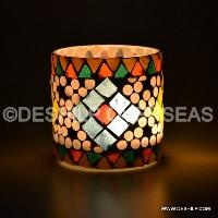 Mosaic Glass Holder