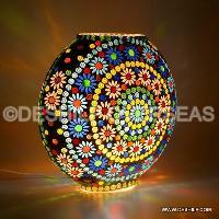 Beautiful Mosaic Glass Table Lamp