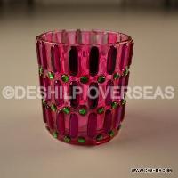 Pink Decorative T-Light Holder