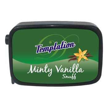 9 Gm Temptation Minty Vanilla Non Herbal Snuff