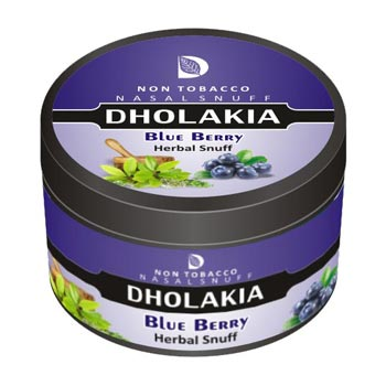 Dholakia Herbal Blueberry 25g Tin
