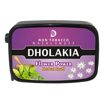 Dholakia Herbal Flower Powder Flip-top