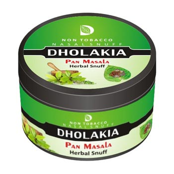 Dholakia Herbal Pan Masala 25g Tin