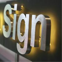 Metal Letters Sign Boards