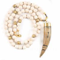 horn beaded jewelry