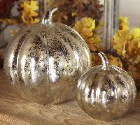 Decorative Glass Pumpkins