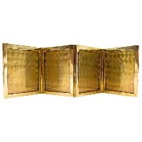 engraved gold card picture frames
