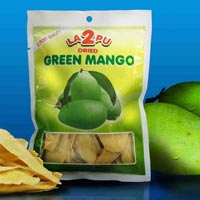 La2pu Dried Green Mango