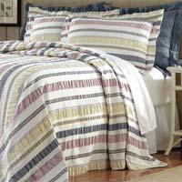Striped Cotton Seersucker Fabric