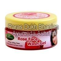 Rose Face Wash Gel