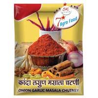 Onion Garlic Masala Chutney