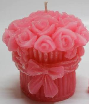 Rose Bouquet Candle