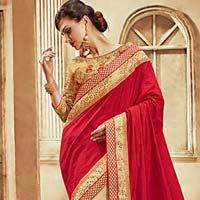 Beautiful Art Silk Saree