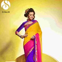 Lovely Digital Printed Saree