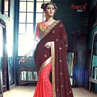 Modern Exclusive Designer Saree