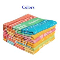 Coloured Terry Bath Towels