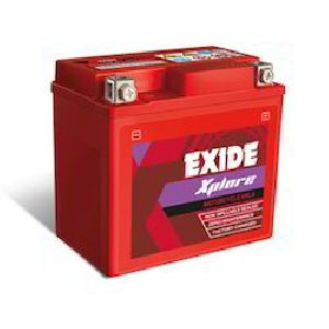 Exide Two Wheeler Motor Cycle Batteries Exide Xplore 2.5lb..