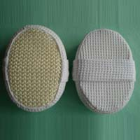 Sisal Bath Sponge With Waffle Cloth