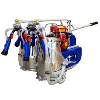 Kerosene/ Petrol Engine Operated Double Bucket Milking Machine