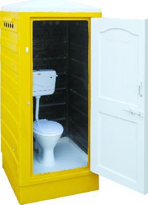 Fibro Plast Portable Western Toilet