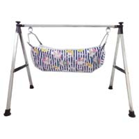 Stainless Steel Square Pipe Folding Baby Cradle
