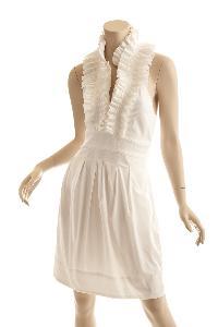 Halter Frill Dress