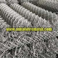Zinc Coated Chain Link Fencing Mesh