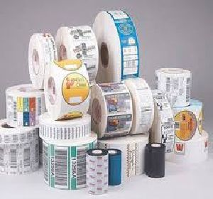 Roll Adhesive Label Stickers