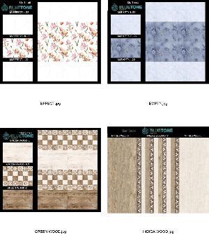 12x18 inch kitchen matt digital wall tiles