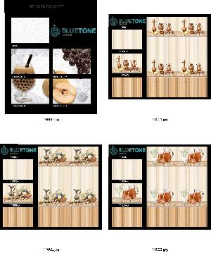 12x18 inch kitchen wall tiles