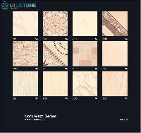 16x16 inch ivory matt digital floor tiles