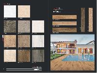 200x1200 mm wood finish vitrified tiles
